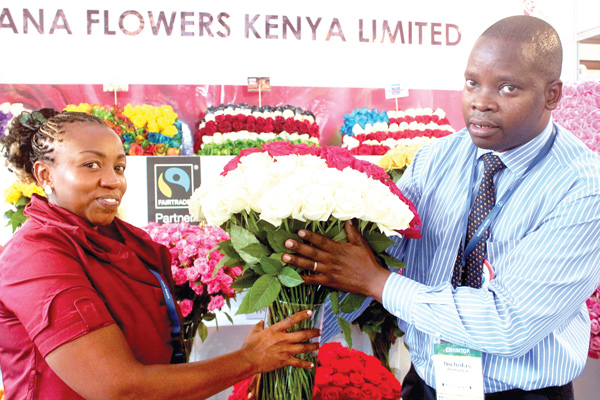 Flowers Kenya marketing manager Ann Gitari