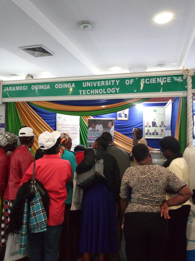Jaramogi Oginga Odinga University of Science and Technology stand